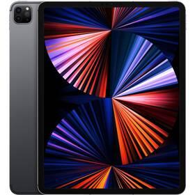 Dotykový tablet Apple iPad Pro 12.9 (2021) Wi-Fi + Cell 256GB - Space Grey (MHR63FD/A)