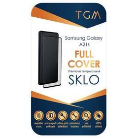 Tvrzené sklo TGM Full Cover na Samsung Galaxy A21s (TGMFCSAMGAA21S) černé