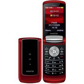 Mobilní telefon Aligator DV800 Dual SIM (ADV800R) červený