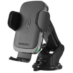 Držák na mobil Evolveo Chargee CarWL15 s bezdrátovým nabíjením (Chargee carWL15) černý