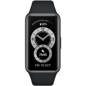 Fitness náramek Huawei Band 6 - ZÁNOVNÍ - 12 měsíců záruka černý