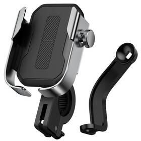 Držák na mobil Baseus Armor Motorcycle Holder (SUKJA-0S) stříbrný