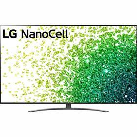 Televize LG 75NANO86P stříbrná