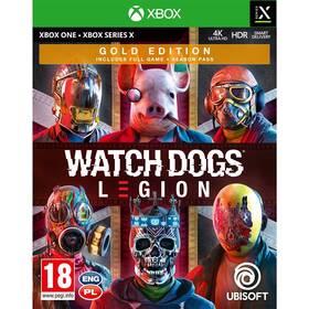 Hra Ubisoft Xbox One Watch Dogs Legion Gold Edition (USX384114)