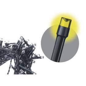 Vánoční osvětlení EMOS 80 LED, 8m, řetěz, teplá bílá, časovač, i venkovní použití (1534170025)