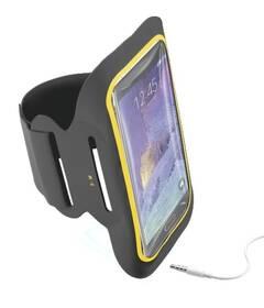 """Pouzdro na mobil sportovní CellularLine Armband Fitness na 5,5"""" (ARMBANDFIT55K) černé"""