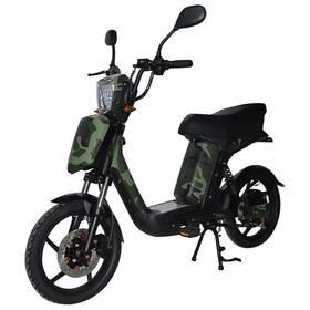 Elektrická motorka RACCEWAY E-Babeta E-BABETA, maskáč