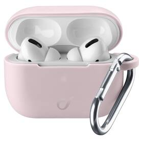 Pouzdro CellularLine Bounce pro Apple AirPods Pro (BOUNCEAIRPODSPROP) růžové
