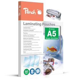 Laminovací fólie Peach A5 (154x216mm), 80mic, 100ks (PP580-03)