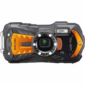 Digitální fotoaparát Ricoh WG70 oranžový