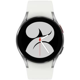 Chytré hodinky Samsung Galaxy Watch4 40mm (SM-R860NZSAEUE) stříbrné
