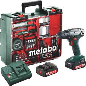 Aku vrtačka Metabo BS14.4Set MD 602206880 zelená