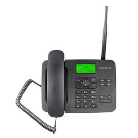 Domácí telefon Aligator T100 (stolní) (AT100B) černý