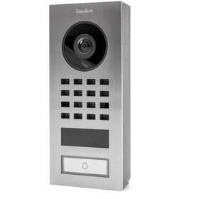 Dveřní videotelefon DoorBird D1101V na povrch, 1 tlačítko nerez ocel (DB-D1101V-SM)
