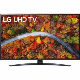 Televize LG 43UP8100 šedá