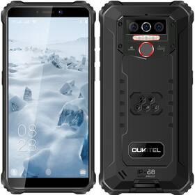 Mobilní telefon Oukitel WP5 (WP5 Red) černý/červený