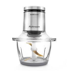 Sekáček potravin Rohnson R-5115 Multimate stříbrný/sklo