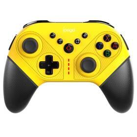 Gamepad iPega SW038B Wireless pro Nintendo Switch/PS 3/Android/PC (PG-SW038 C) žlutý