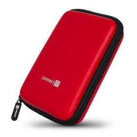 """Pouzdro na HDD Connect IT HardShellProtect, skořepinové, pro 2,5"""" HDD - červené (CFF-5000-RD)"""