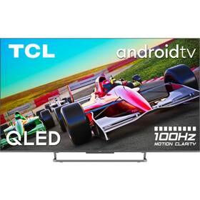 Televize TCL 75C728 stříbrná