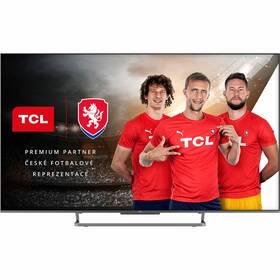 Televize TCL 65C728 stříbrná