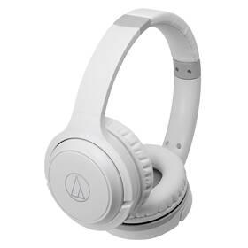 Sluchátka Audio-technica ATH-S200BTWH (S200BTWH) bílá