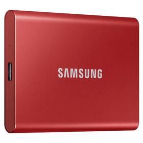 SSD externí Samsung T7 1TB (MU-PC1T0R/WW) červený