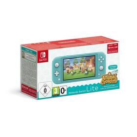 Herní konzole Nintendo Switch Lite + Animal Crossing: New Horizons + Nintendo SWITCH online předplatné na 3 měsíce (NSH130) modrá