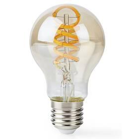 Chytrá žárovka Nedis Wi-Fi, 5.5W, 350lm, E27, teplá bílá/studená bílá (WIFILT10GDA60)