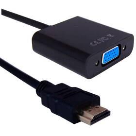 Redukce GoGEN HDMI/VGA, 0,2m (HDMIVGAMF01) černá