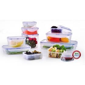 Sada potravinových dóz Lock&lock HPL805S11 11 ks plast
