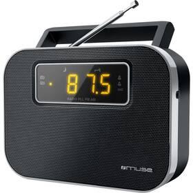 Radiopřijímač MUSE M-081 R černý