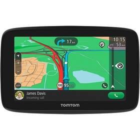 """Navigační systém GPS Tomtom GO ESSENTIAL 5"""" EU45 Lifetime (1PN5.002.10) černá"""