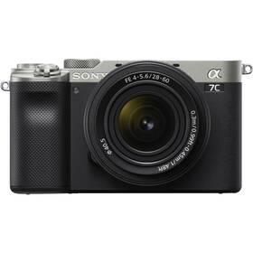 Digitální fotoaparát Sony Alpha 7C + 28-60 stříbrný