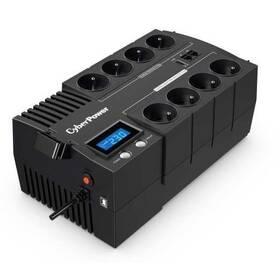 Záložní zdroj Cyber Power Systems BRICs Series II SOHO LCD UPS 1200VA/720W, české zásuvky (BR1200ELCD-FR)