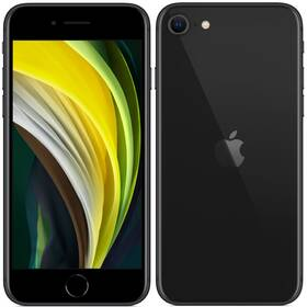 Mobilní telefon Apple iPhone SE (2020) 128 GB - Black (MHGT3CN/A)