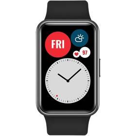 Chytré hodinky Huawei Watch Fit - ZÁNOVNÍ - 12 měsíců záruka černý