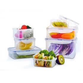 Sada potravinových dóz Lock&lock HPL809BS 7 ks plast