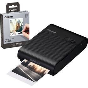 Fototiskárna Canon Selphy Square QX10 + papíry 20 ks černá