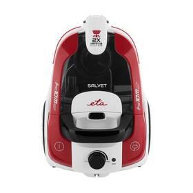Podlahový vysavač ETA Salvet 0513 90000 bílý/červený
