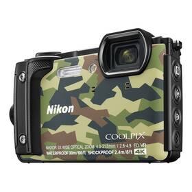 Digitální fotoaparát Nikon Coolpix W300 + 2 v 1 plovoucí popruh