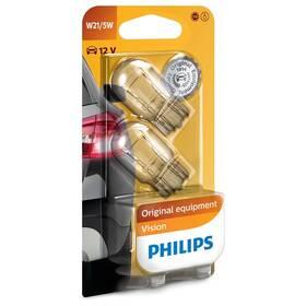 Autožárovka Philips Vision W21/5W, 2ks (12066B2)