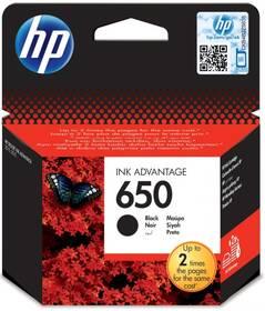 Inkoustová náplň HP No. 650, 360 stran - originální (CZ101AE) černá