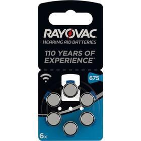 Baterie do naslouchadel Varta Rayovac 675, blistr 6ks (4600945416)