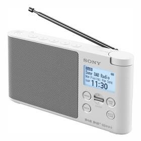Radiopřijímač s DAB+ Sony XDR-S41DW bílý