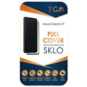 Tvrzené sklo TGM Full Cover na Xiaomi Redmi 9T (TGMFCXIRED9T) černé