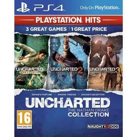 Hra Sony PlayStation 4 Uncharted The Nathan Drake Collection PS HITS (PS719711414)