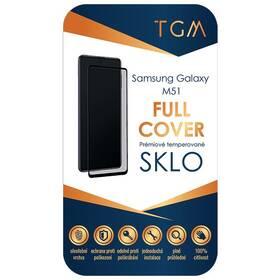 Tvrzené sklo TGM Full Cover na Samsung Galaxy M51 (TGMFCSAMM51) černé