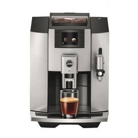 Espresso Jura E8 Moonlight Silver