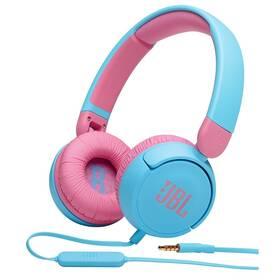 Sluchátka JBL JR 310 modrá/růžová